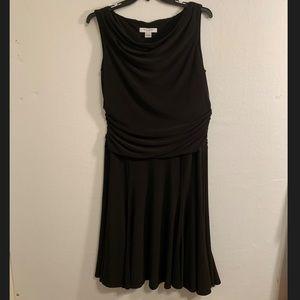 Rena Rowan black dress
